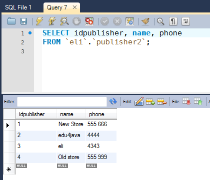 Insert Into Insert Into Select With Mysql Workbench