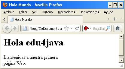 Estructura Básica De Una Página Web O Documento Html